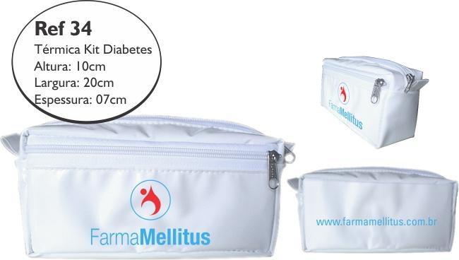 Bolsa De Transporte De Insulina : Bolsa t?rmica para transporte de insulina